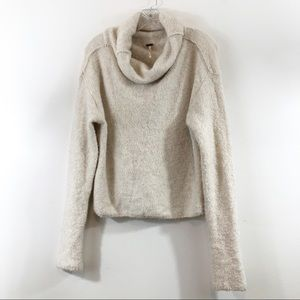 Free People Cozy Cowl Neck Sweater Size M